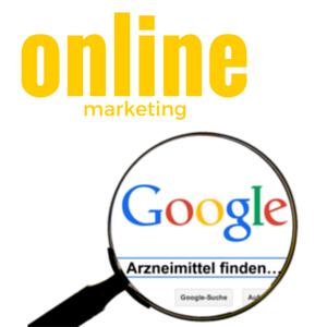 online Marketing pharma